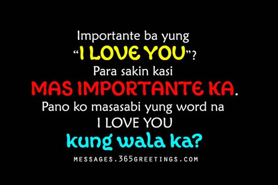 tagalog love quotes for him cute love quotes for her