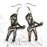 Divinity Roxx Pop Art Earrings