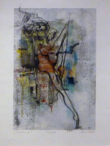 MADRIR - Joann Côté - 30'' x 22'' - Technique mixte sur papier
