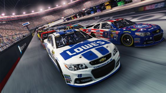 Screenshots from NASCAR '14 #ItsYourTurn