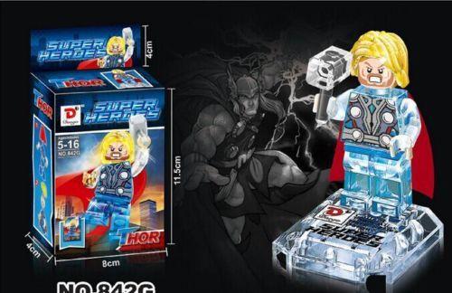 new-Thor-avengers-alliance-superhero-Crystal-blocks-toys-LS