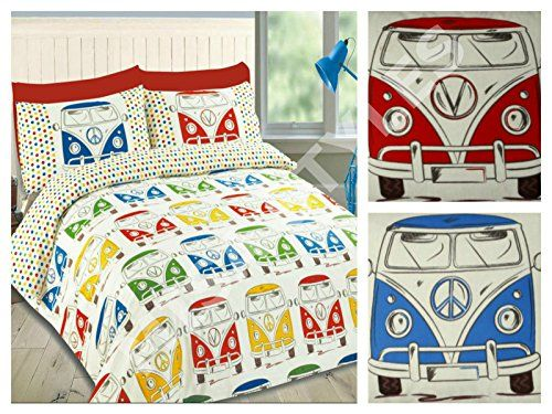 Bettwäsche  VW T1 Bulli   VW Camper Bus