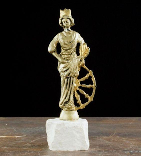 Vintage Saint Euphemia Statue Eastern by LittleRiverVintage