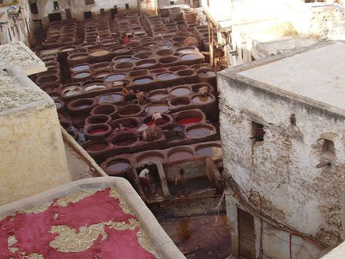 Fes tannery | Flickr - Photo Sharing!