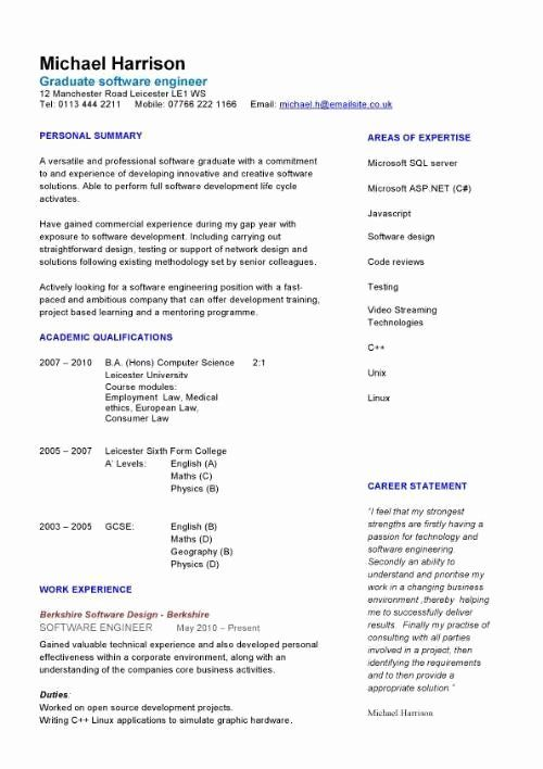 23 Engineering Resume Examples For Students In 2020 Teaching