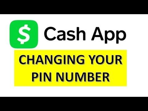 Cash App Pin Number How To Change It Youtube Sisters Book App Cash