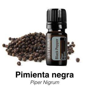 Pimienta Negra: