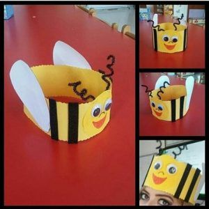 Bee craft idea for kids   Crafts and Worksheets for Preschool,Toddler and Kindergarten