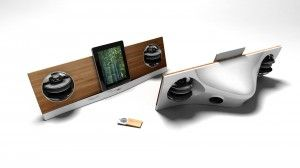 Jarre - AeroPad Two iPad Speaker Dock