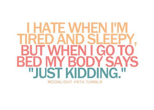 Nearly every night.