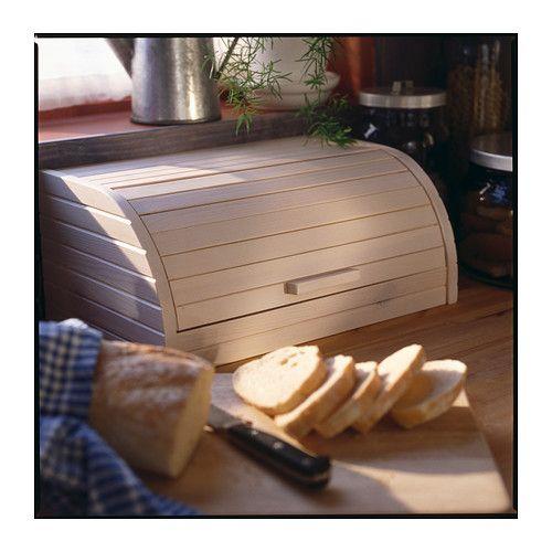 Boite En Bois Ikea : IKEA Bread Bin
