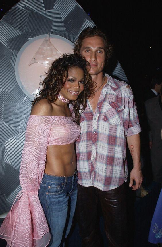 Janet Jackson And Matthew McConaughey | GRAMMY.com