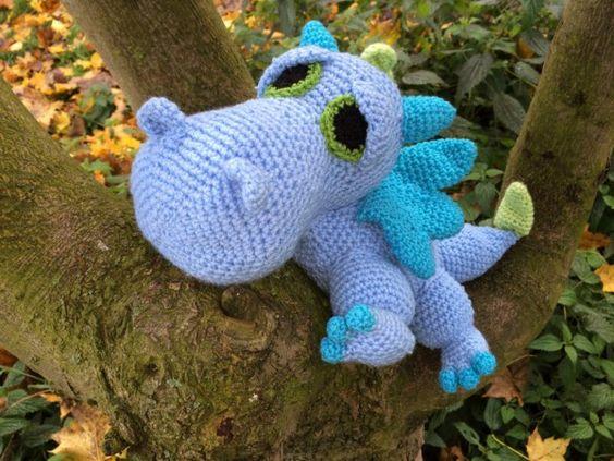 Dragon Amigurumi crochet // dragon crochet DIY
