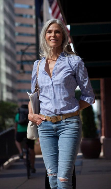 Jeans Fashion Over 50 Casual Wear