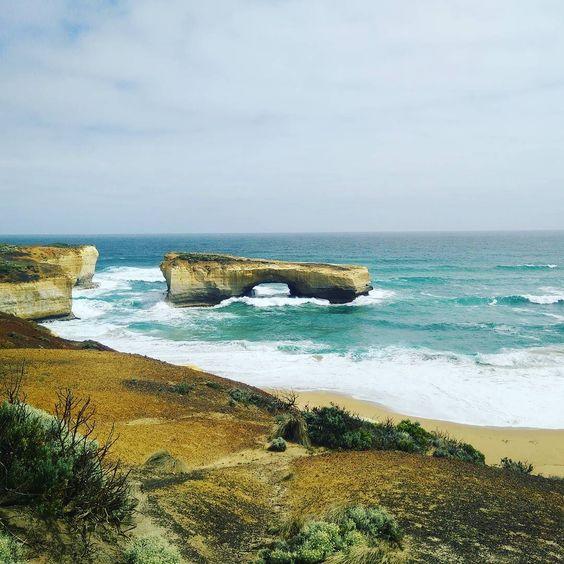 #australia #melbourne #travel #greatoceanroad #12apostles #bridge #sea #sun #victoria #waves by xchillsnotskills http://ift.tt/1ijk11S