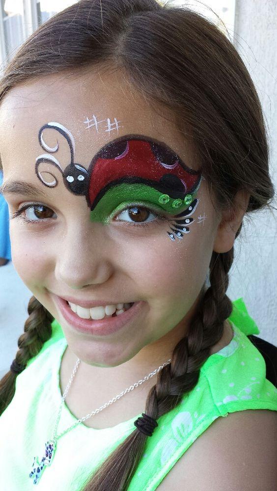Lady Bug Eye http://www.atlantafacepainter.com