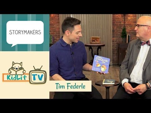 Tim Federle | Hickory Daiquiri Dock and Tequila Mockingbird! - KidLit.TV