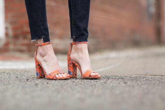 Love these Sam Edelman floral heels.  Shop the look HERE 👉🏻👉🏻 http://liketk.it/2qm1Z @liketoknow.it #liketkit