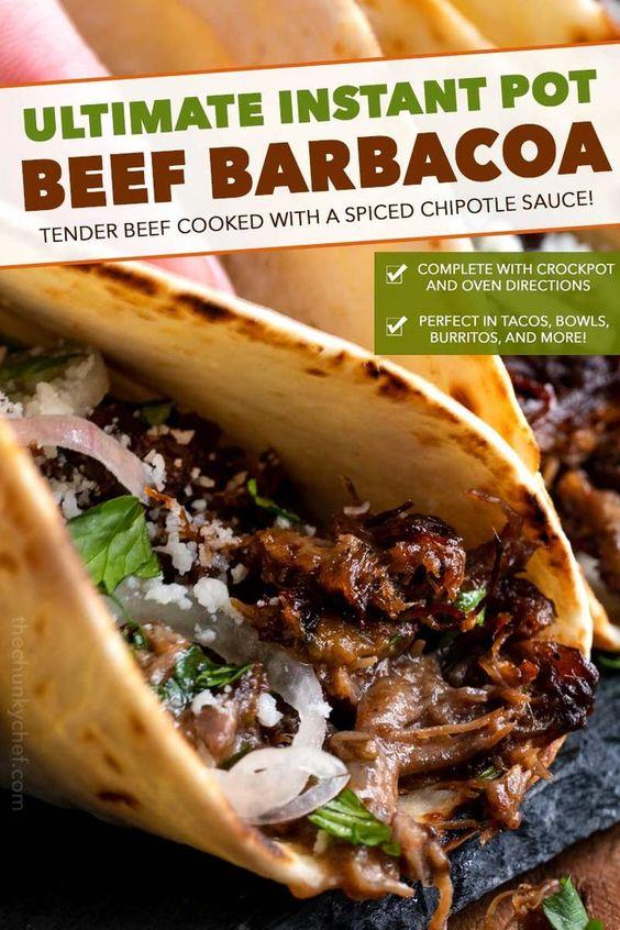 Ultimate Instant Pot Beef Barbacoa