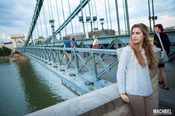 Puente de las Cadenas Budapest capital de Hungría by machbel