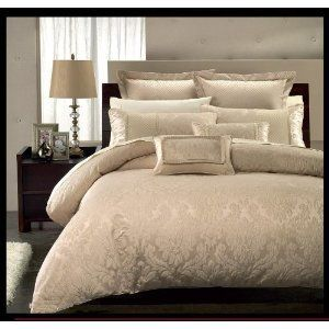 Royal Hotel Collection Sara 7 Pieces Beige King Cal King