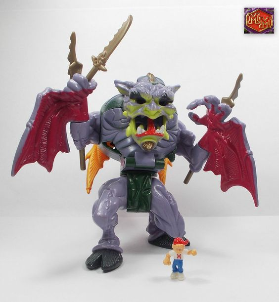 Mighty Max - Medi-Evil Mauler / Shatters Gargoyle - Battle Warriors - Toys (6)