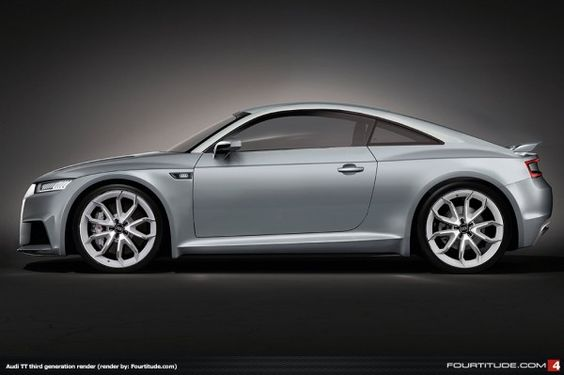 Audi TT MQB Render by Fourtitude