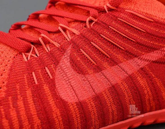 Nike Free Hyperfeel Run Gym Red Detail