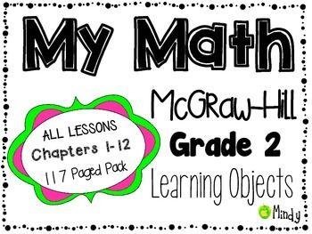 math worksheet : my math mcgraw hill grade 2 learning objectives chapters 1 12  : Mcgraw Hill Math Worksheets