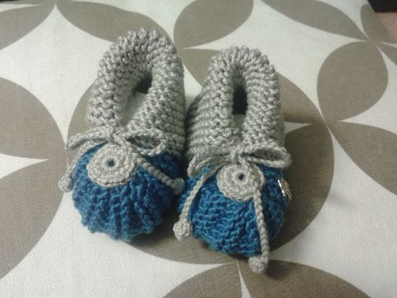 Babyschuhe aus 100 % Baumwolle hergestellt,  Größe 0-6 Monate