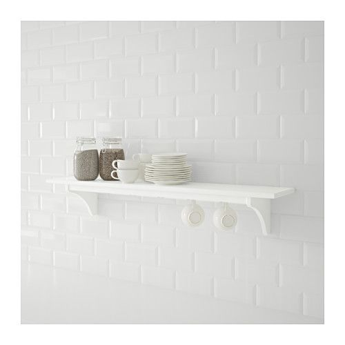 STENSTORP Estante de pared - blanco, 120 cm - IKEA