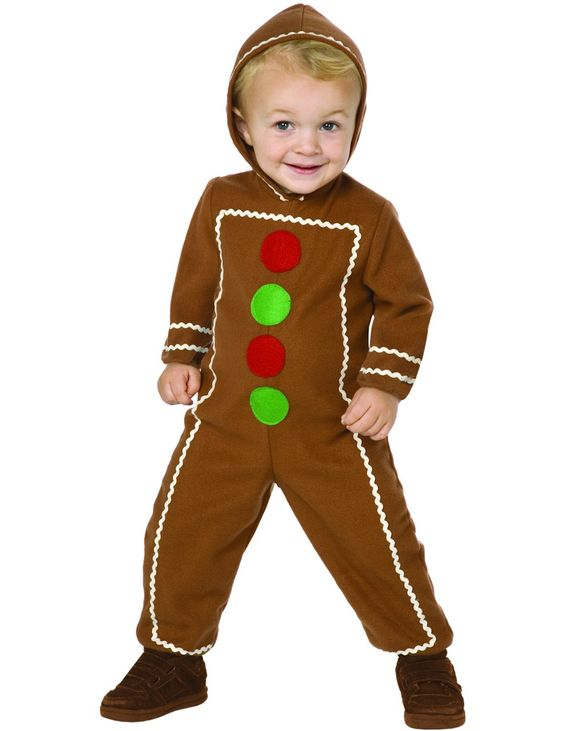 Child Gingerbread Man Costume                              …