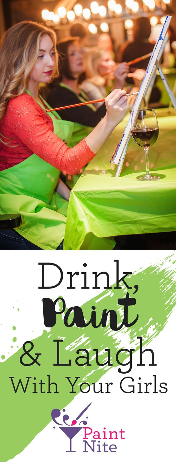 Redefine your idea of a fun night out—gather a group of friends and head to Paint Nite, where you'll drink, socialize, and paint a gorgeous image to take home.    https://www.paintnite.com/?utm_source=SF_Pint_USCA&utm_medium=2.1P