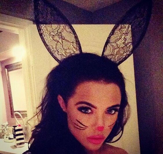 Bunny Makeup Bunnies And Bunny Girls On Pinterest