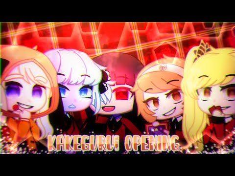 Kakegurui Opening Gacha Club Short Intro Youtube Intro Youtube Intro Anime