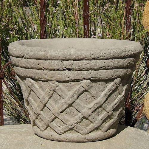 Concrete Tudor Garden Planter Large Garden Planters Planters Concrete Planters
