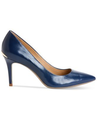 Calvin Klein Women's Gayle Pointed-Toe Pumps $99.00 Classic style never gets old. The Gayle pointed-toe pumps by Calvin Klein are the perfect style to wear to work and beyond.