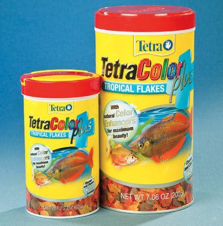 $14.11-$35.49 This premium food offers all of the advantages of tetra's newest clean and clear water formula plus the added benefit of additional color enhancing flakes. The diet contains a blend of powerful color enhancing ingredients designed to promote the development of natural pink to orange-red colors in tropical fish.