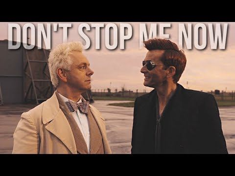 Image result for good omens dont stop me now
