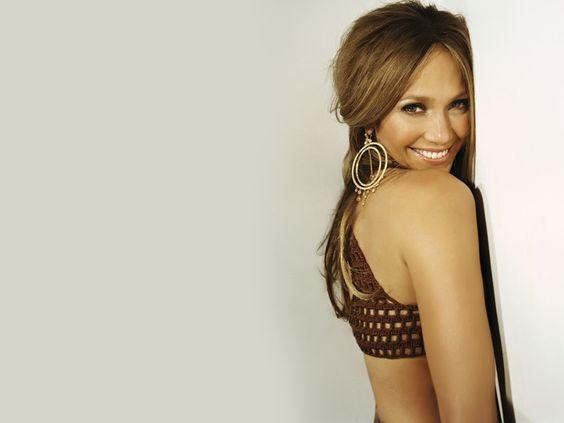 Jennifer Lopez ...just as beautiful without make up also.