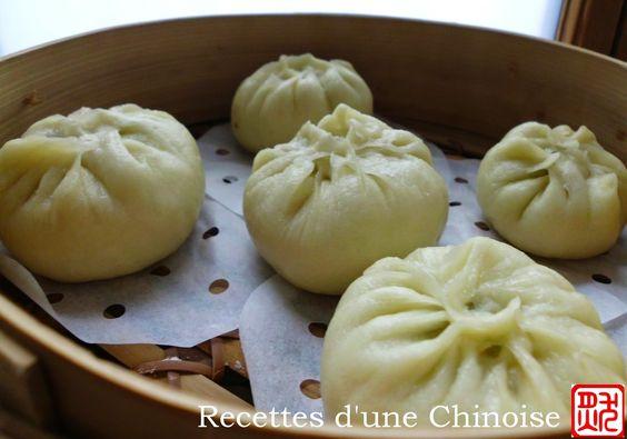 Recettes d'une Chinoise: Une sélection de 10 recettes de bao (baozi)