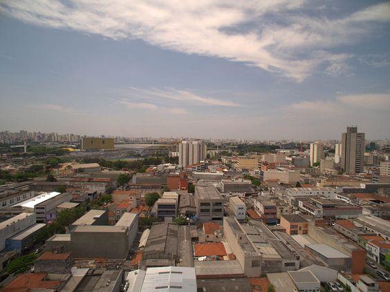 Vista da varanda da frente - do 10⁰  ao 12⁰ andares