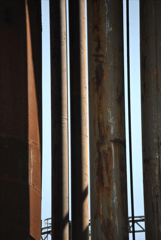 """""""pipes"""", Landschaftspark Nord, Duisburg – Julio 2015 – Precio: 250 EUR"""