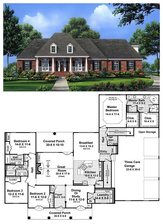 Pinterest the world s catalog of ideas for Country open floor plans