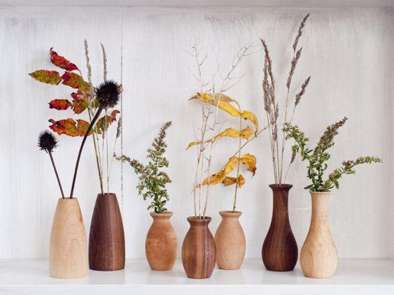 Weed pot Stick pot Dry flower vases Wood vases Miniature