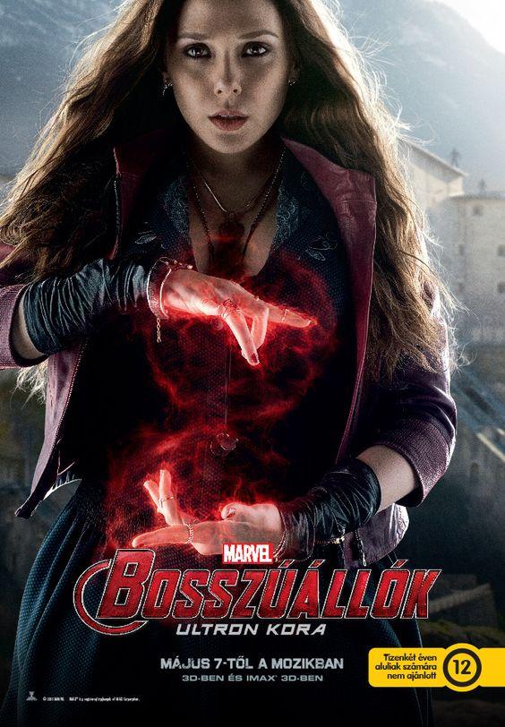 Wanda Maximoff / Scarlet Witch / Skarlát Boszorkány