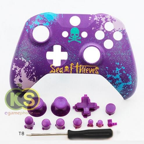 Custom Xbox One S Sea Of Thieves Limited Controller Shell Xbox One X Front Shell Housing Replacement Custom Xbox Xbox One S Xbox One