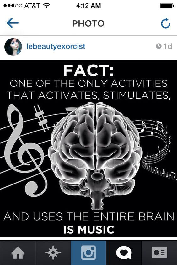 My brain is activated all day then!