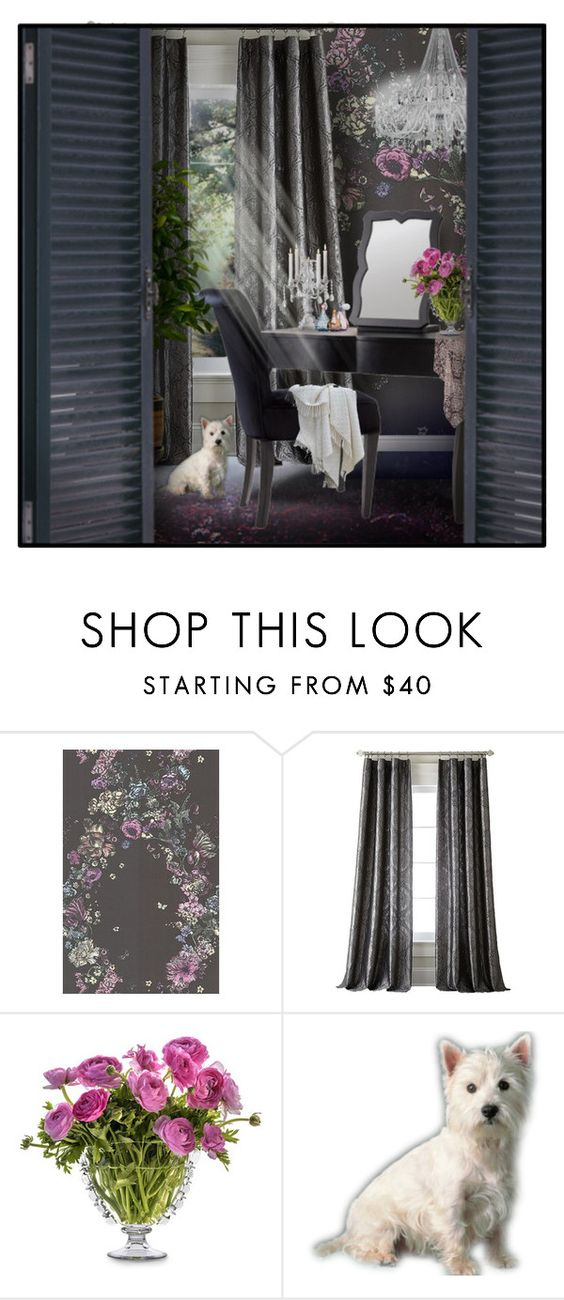 """Dressing Table"" by signaturenails-dstanley ❤ liked on Polyvore featuring interior, interiors, interior design, home, home decor, interior decorating and Juliska"