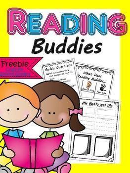 This FREEBIE is a great start for a year of wonderfully purposeful buddy reading.  It comes with...~Questioning stems for fiction and nonfiction books. (I laminate them and put them in the buddy reading baskets)~Buddy reading interview~Anchor chart exampleEnjoy!